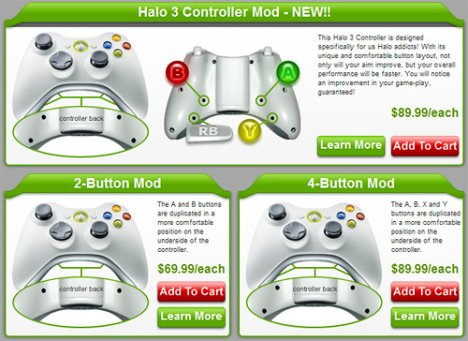 HG Controllers Are Custom Modded