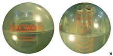 Remote controlled bowling ball