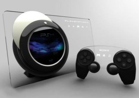 PS4 console fan concept
