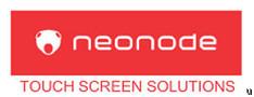 Neonode zBook ebook touchscreen platform