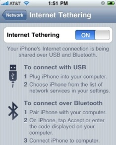 iPhone Tethering Disappears From iPhone 3G After iOS 4.2 Update?