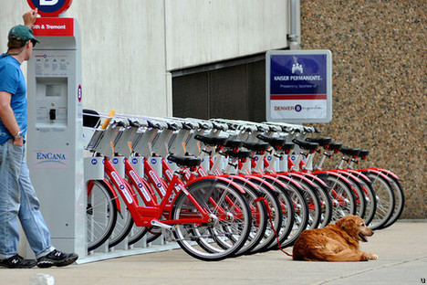 B-cycle bike sharing system