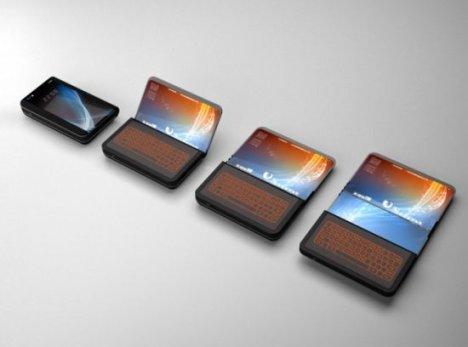 Flex Display Phone Can Enlarge Its Display