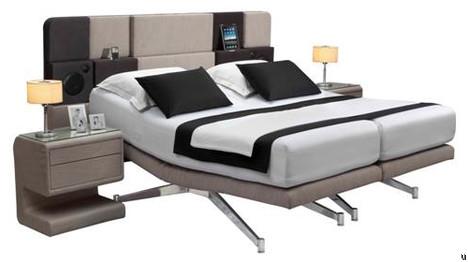 Hollandia bed plays nice with iPad