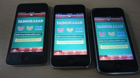 iOS 4.1 Game Center Ported To Jailbroken iPhone 3G