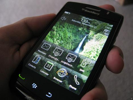 BlackBerry Storm 3 leak debunked?