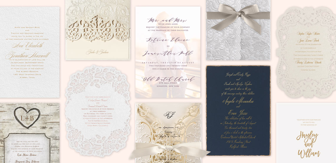 Order Your Wedding Invitations Online