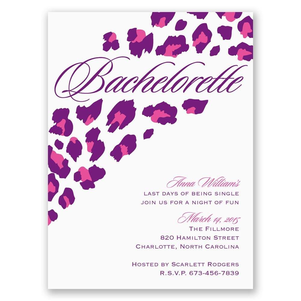 Wild Style Bachelorette Party Invitation Invitations By Dawn