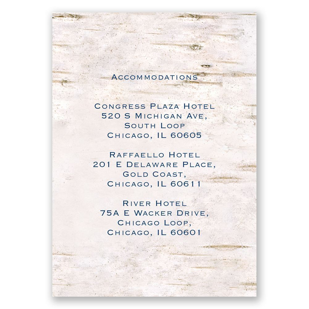 Carved In Love Accommodations Card Invitations By Dawn