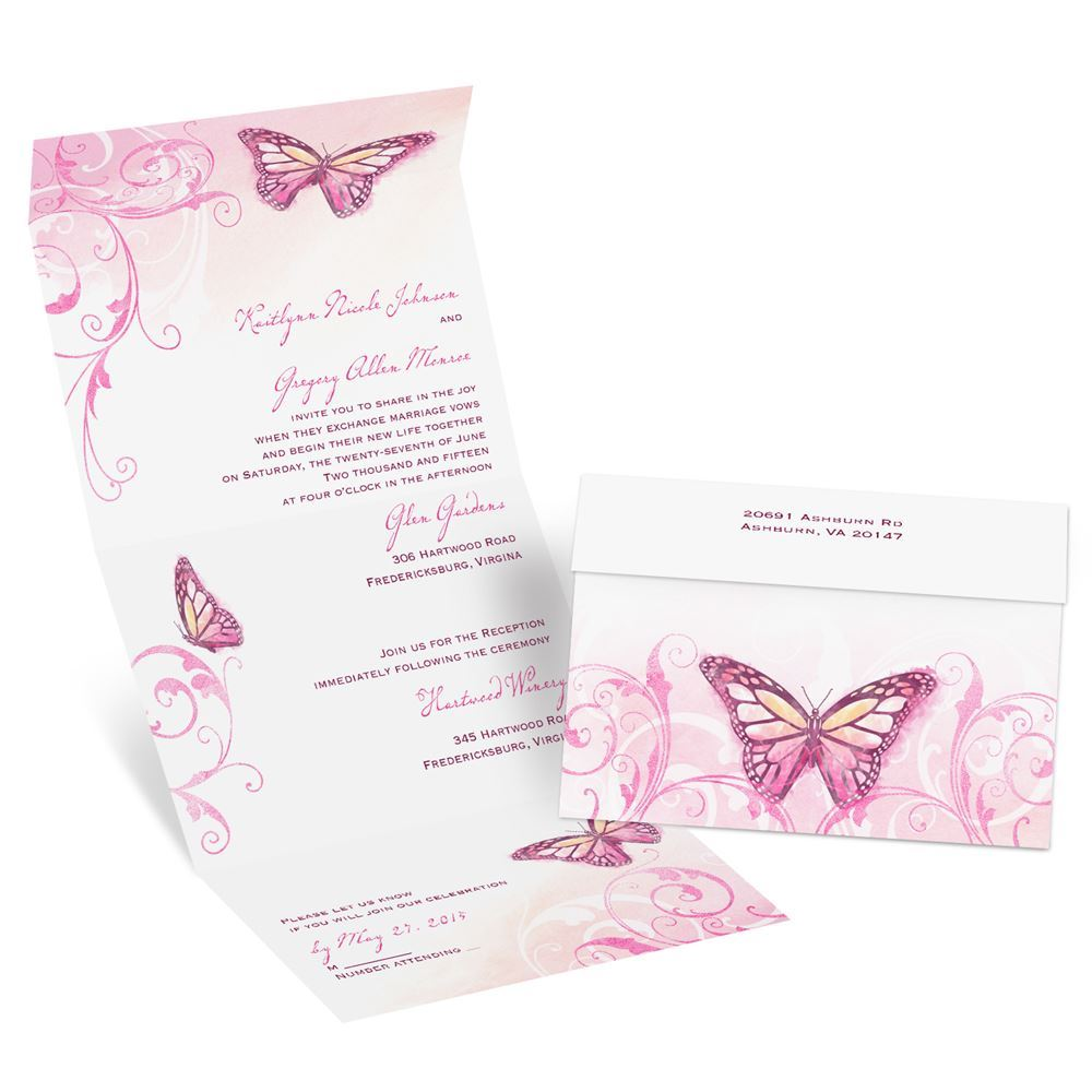Affordable Wedding Invitations Response Cards