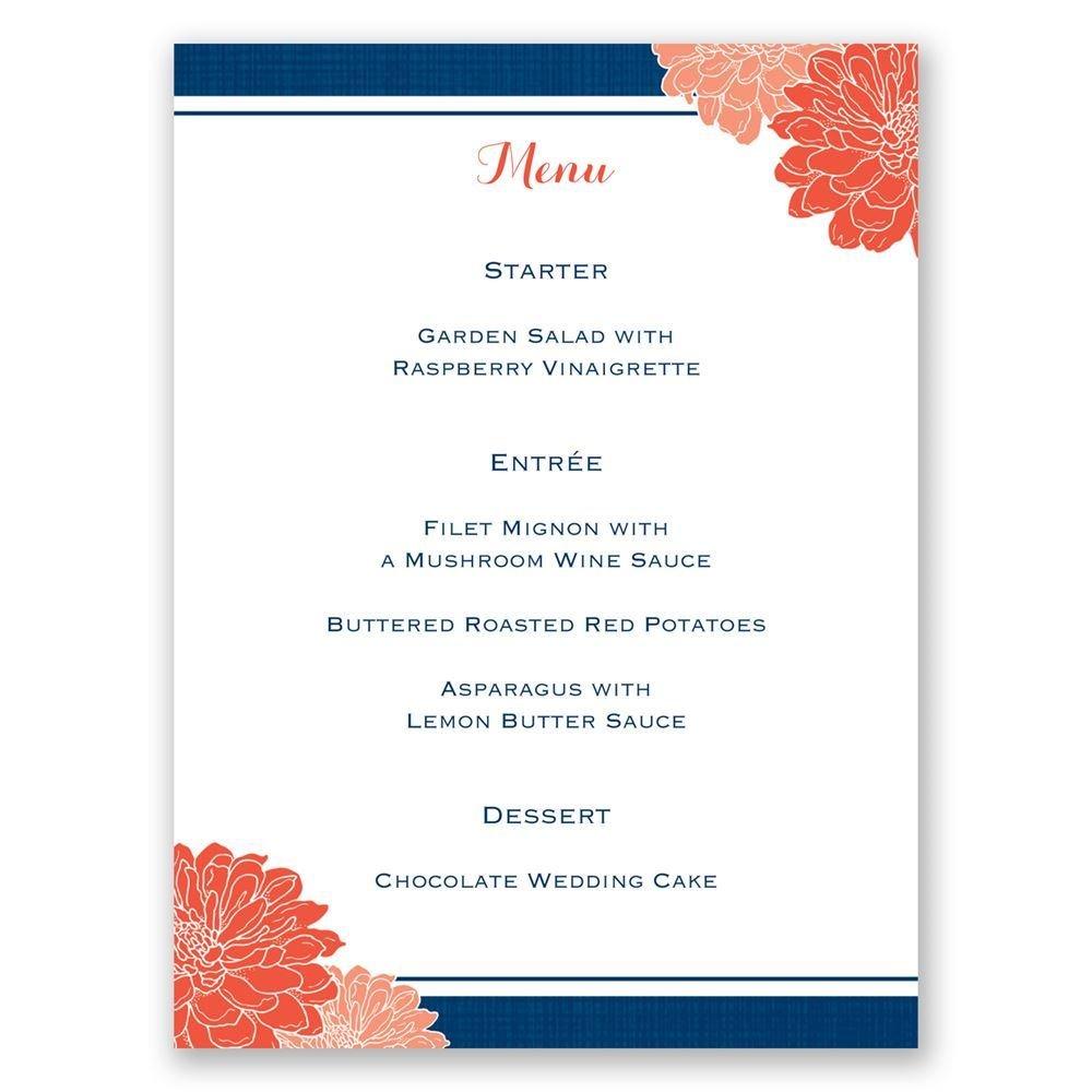 Floral Wedding Shower Invitations
