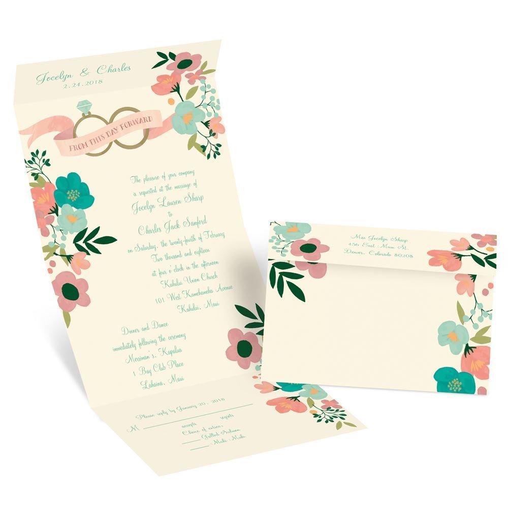 Cheap Wedding Invitations Seal And Send