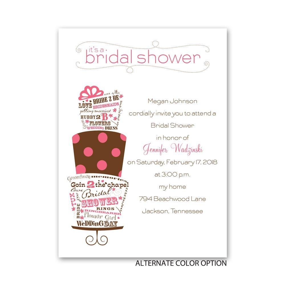 Popular Bridal Shower Invitations
