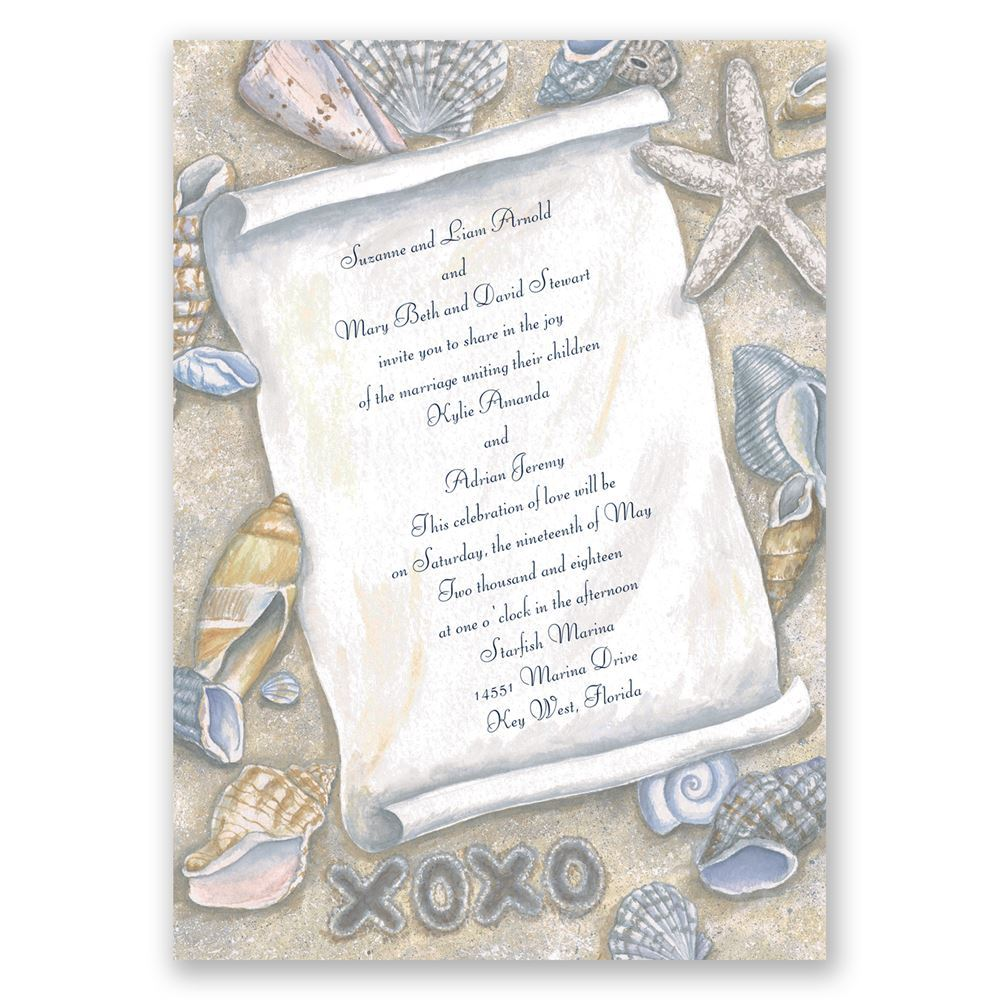 Gift From The Sea Invitation Invitations By Dawn