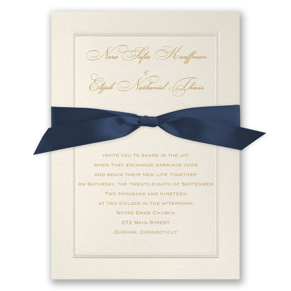 Pearl Frame Invitation Invitations By Dawn