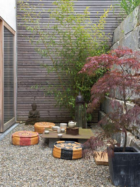 comment creer et amenager un jardin zen