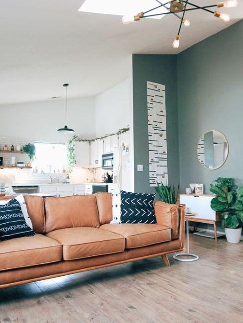 Dipingere le pareti di verde può essere una valida opzione per restituire luminosità a un soggiorno non troppo ampio o comunque buio. Come Usare Le Pareti In Cartongesso 5 Suggerimenti Westwing