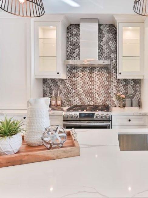 La parete del soggiorno dichiara il suo stile. Come Decorare La Cucina Con La Carta Da Parati Westwing