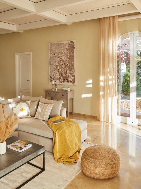 Un salotto arredato in modo corretto. Abbinare I Colori Delle Pareti Consigli Per Non Sbagliare Westwing