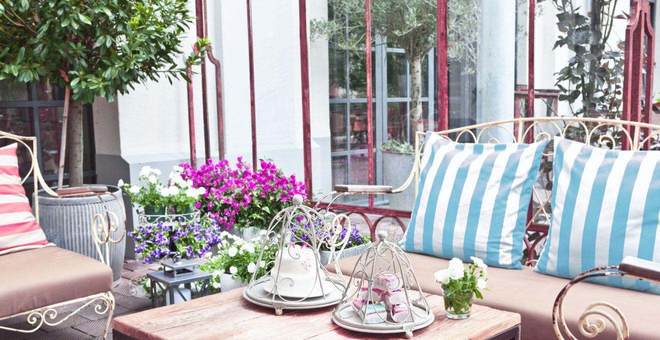 mesas de patio decoracion de