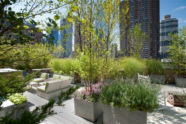 rooftop garden manhattan new york Les jardins suspendus de New York - Westwing magazine