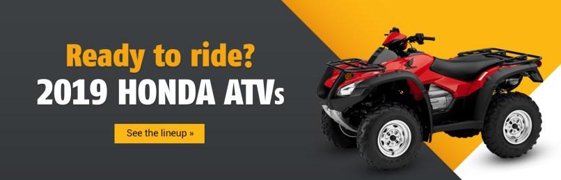 2019 Honda Atvs