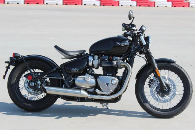 Triumph Bonneville Black Exhaust Hobbiesxstyle