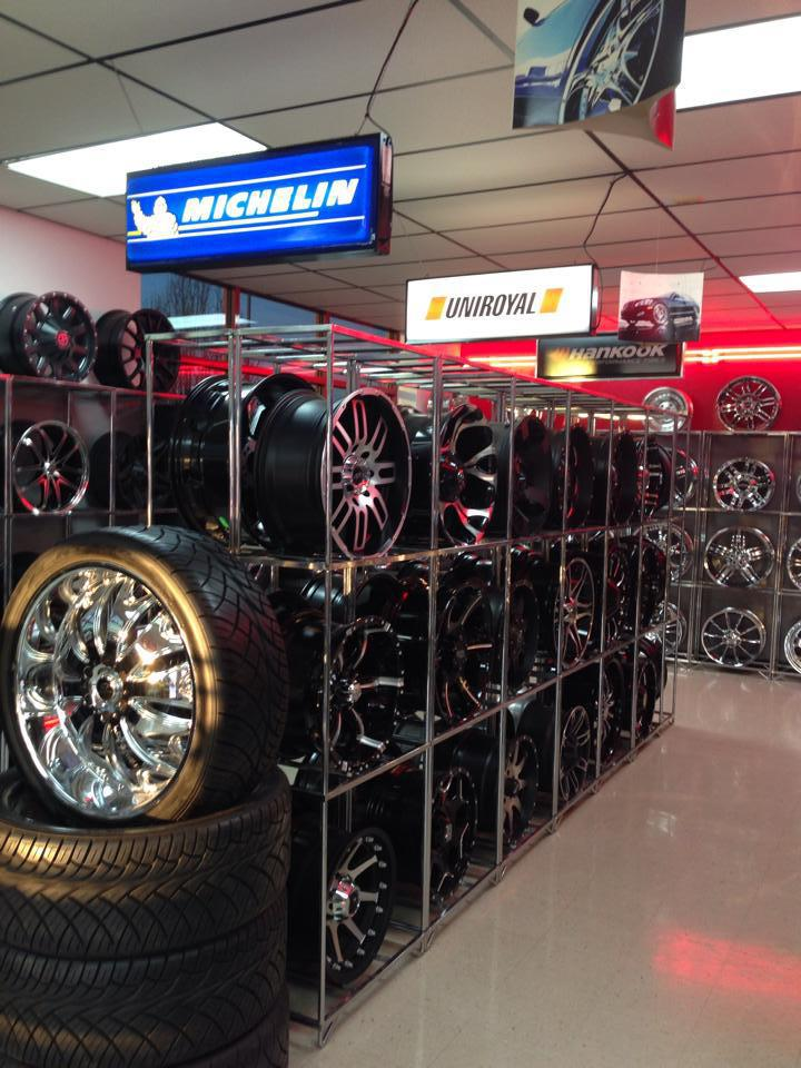 Express Tire   Wheel Tire Pros   Oklahoma City  OK Tires And Auto     We ve remodeled our tire and wheel showroom