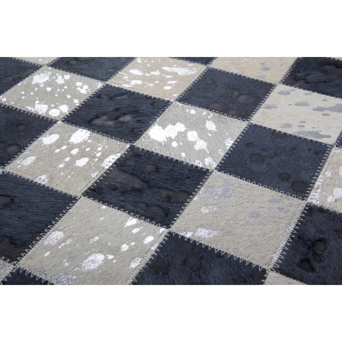 tapis 100 cuir fait main tampa