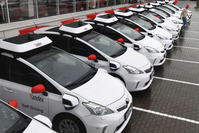 Autos no tripulados de Yandex