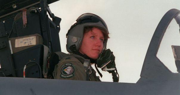 Jeannie Flynn, piloto norteamericana