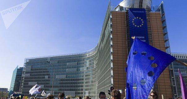 Protestas en Bruselas