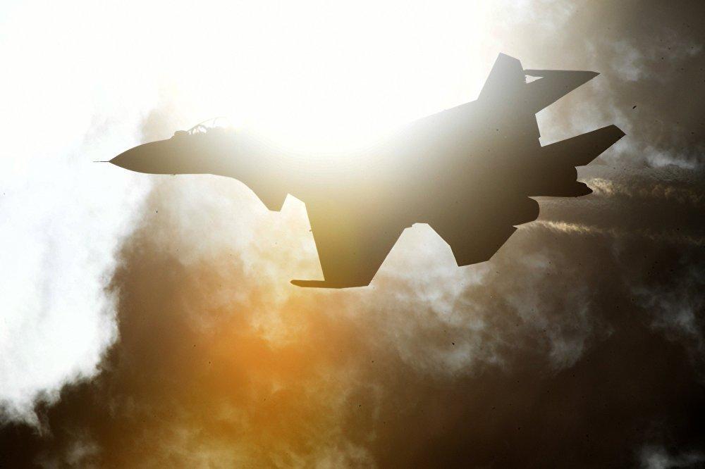 Un caza Su-30SM