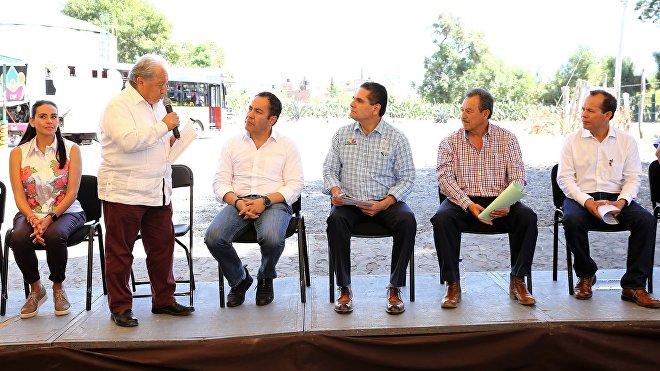 Inauguración de la planta de NopaliMex