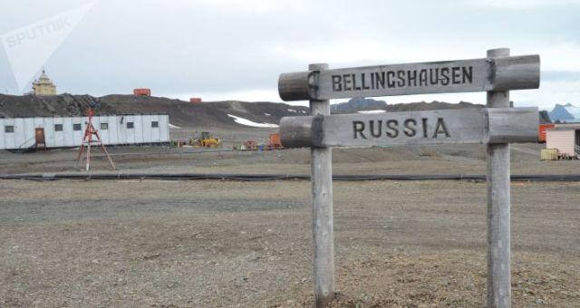 Estación antártica rusa Bellingshausen