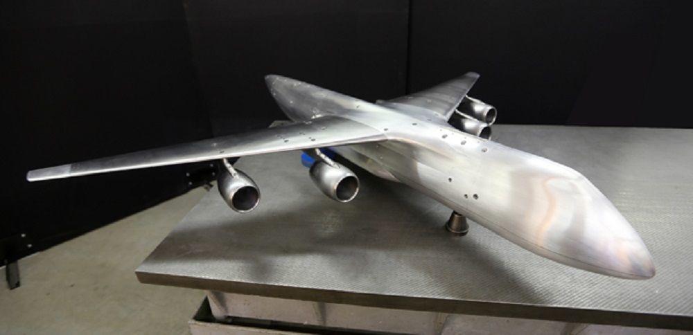 Modelo del Slon, nuevo avión superpesado ruso