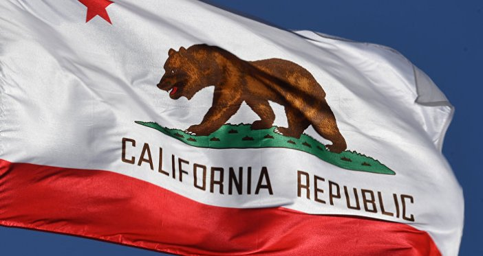 La bandera del estado de California