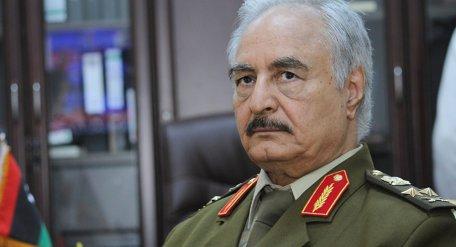 Jalifa Haftar, comandante del Ejército Nacional de Libia