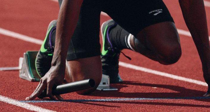 Una atleta. Imagen referencial