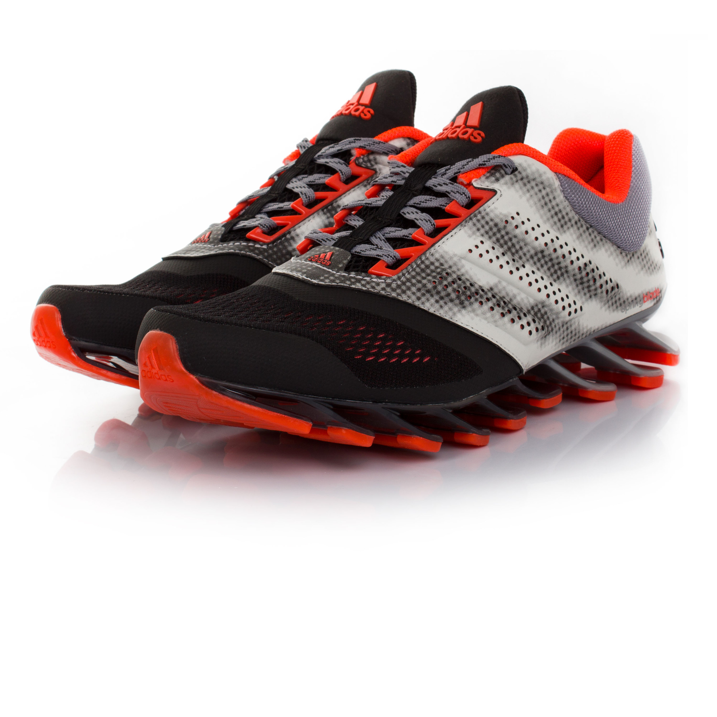 Adidas Springblade Drive 2 Mens White Black Running Sports