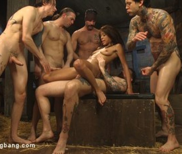 Photo Number  From The Holy Vessel Shot For Hardcore Gangbang On Kink Com