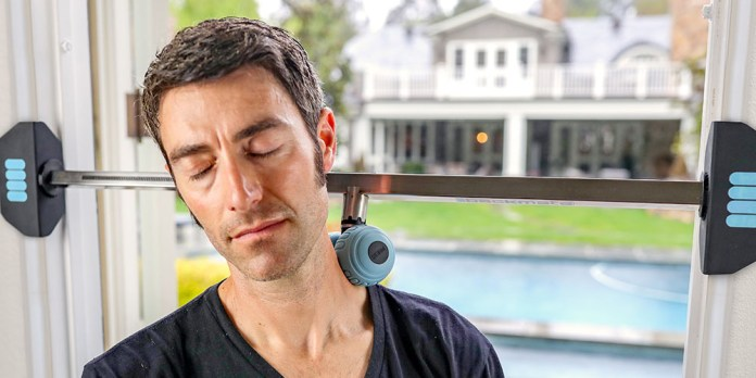 The Backmate Massage System, on sale for $99.99 when you use coupon code BFSAVE20 at checkout
