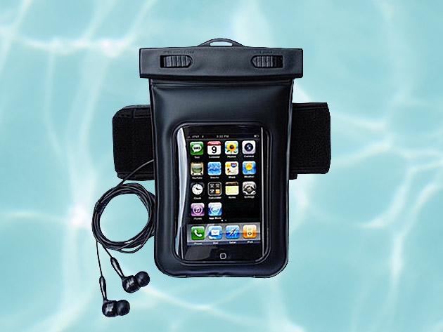 Waterproof Smartphone Bag With Music Out Jack Waterproof