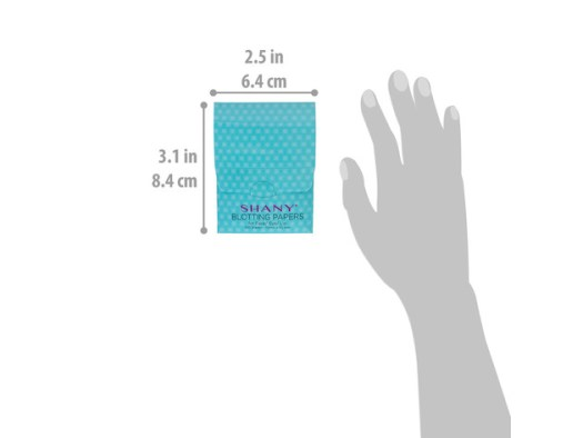 SHANY Makeup Blotting Papers: 4 Packs of 100 Oil Absorbing Paper Sheets for Face - 400 Sheets for $9 3
