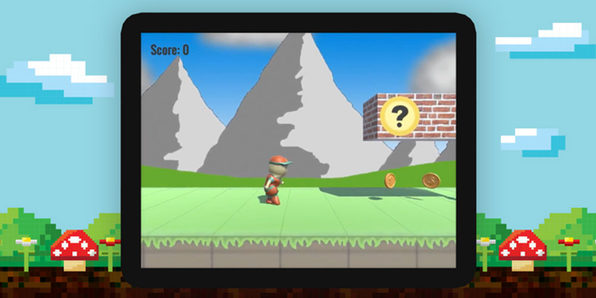 Build and Model a Super Mario Run Clone in Unity3D - Product Image