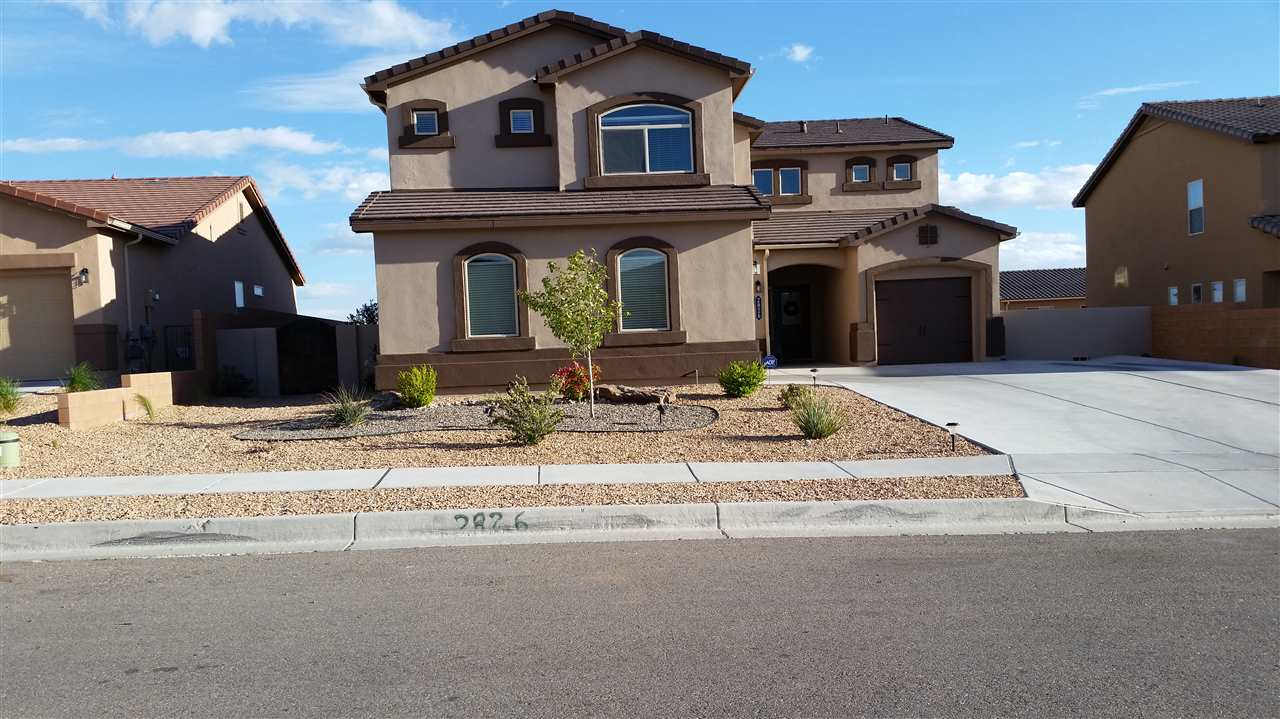 This stunning home features 5 bedrooms/ 3 baths. It has lots of room and boasts 3538 SF. Make a grand entrance in the foyer, stunning dining area, with candle adjustable light fixture, and extra large front room. Every room has its own charm. The kitchen will delight even a gourmet chef with granite counter tops and an island. Amazing pot/pan holder comes with the house. There is a master bedroom upstairs and downstairs. Very open and airy living space. Plenty of storage and closets. Huge walk in pantry and is big enough to put an office in there. Two laundry areas, one upstairs and one in the garage. This home would work well as a mother in law set up-features a very large loft which be turned into another bedroom. Upstairs there is a wonderful sitting area, office, or study, you could even make it into another bedroom. The back yard is landscaped and absolutely perfect. Gazebo stays. A MUST SEE! $5000 to buyer's broker at closing if under contract by April 17, 2017.