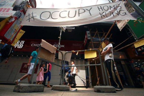 Pro-Democracy protests in Hong Kong - UPI.com
