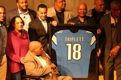 First African-American to be drafted and play in the NFL, Wally Triplett, dies First African American to be drafted and play in the NFL Wally Triplett dies