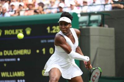 Watch: Venus clinches spot in third round at Wimbledon 2018 Wimbledon 2018 Roger Federer Venus Williams advance