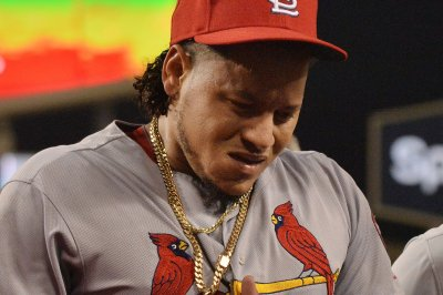 Watch: Cardinals' Carlos Martinez drilled in chest by 110-mph hit St Louis Cardinals pitcher Carlos Martinez hit in chest by 110 mph comebacker